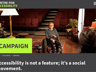 Centre for Accessibility has been launched!